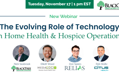 The Evolving Role of Technology in Home Health & Hospice Operations